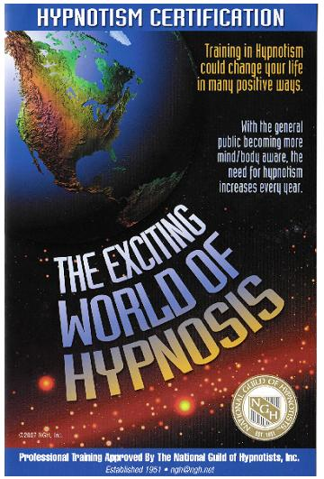 Hypnosis Certification Course Poster